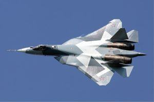 Russian Federation Sukhoi T-50 Maksimov. Source ©Creative Commons.