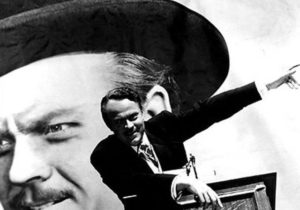 A promotional still from RKO Studios for the 1941 movie classic Citizen Kane, written, directed and staring Orson Welles when he was only 26 years old! It is still considered to be one of the greatest movies ever made. Ever since I was a child I've been a huge fan and deeply influenced by his cinematic work. Little did I know then that a few years before Welles passed, he would host the 1982 documentary on Nostradamus entitled The Man Who Saw Tomorrow, which defined the ideal of what a great Nostradamus documentary should aspire to be.