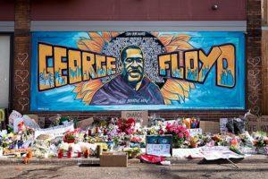 George Floyd mural Minneapolis. Source Lorie Shaull.